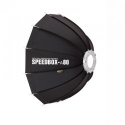SMDV SPEEDBOX-A80 Softbox Parapluie flash Bowens