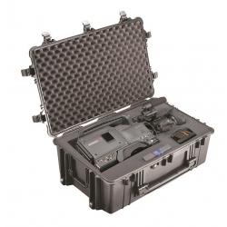 Peli 1650 Black valise avec mousse
