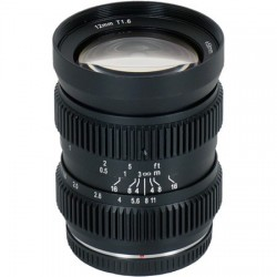 SLR Magic 12mm T1.6 Hyperprime Cine Lens MFT