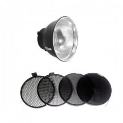 Godox réflecteur pour AD600B + Kit de Grilles