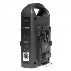 Const C-2LVP double chargeur pour batterie V-mount