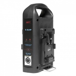 Const C-2LVP two-channel charger for V-mount battery