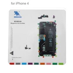 Tapis à vis pour réparation iPhone 4