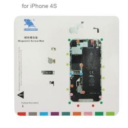Tapis à vis pour réparation iPhone 4S