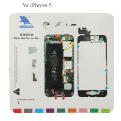 Tapis à vis pour réparation iPhone 5