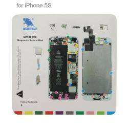 Tapis à vis pour réparation iPhone 5S