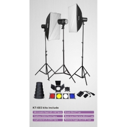 Nicefoto KT603 kit Flash 3x180w