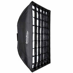 Godox 60x60cm Softbox Parapluie avec Grid