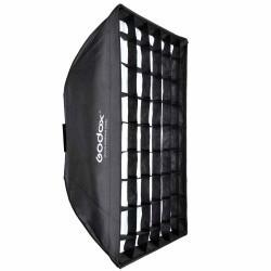 Godox 90x90cm Softbox Parapluie avec Grid