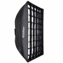 Godox 70x70cm Softbox Parapluie avec Grid