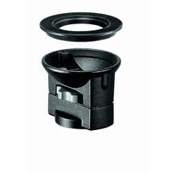 Manfrotto 325N Adaptateur Bol 100mm et 75mm