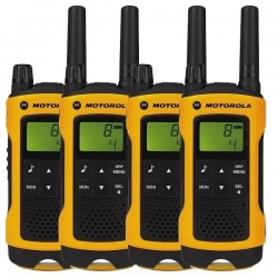 Motorola TLKR T80 Extreme Quad Walkie-Talkies
