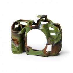EasyCover Protection Silicone pour Nikon D7500 Militaire