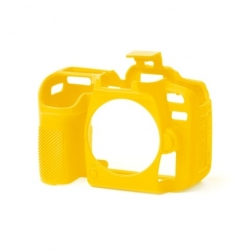 EasyCover Protection Silicone pour Nikon D7500 Jaune