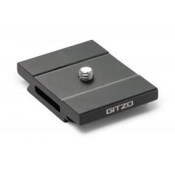 GITZO GS5370SD Plateau rapide court, profil D, aluminium