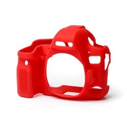 EasyCover Protection Silicone pour Canon 6D MK II Rouge