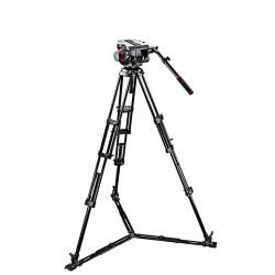 Manfrotto 509HD, 545GBK Kit 100 Pro Trépied Vidéo