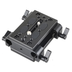 SmallRig Baseplate with Dual 15mm Rod Clamp