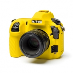 EasyCover Protection Silicone pour Nikon D850 Jaune