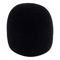 Bonnette Micro en mousse WS02 noire