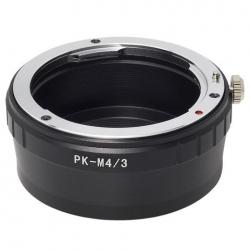 Bague d'adaptation Pentax PK - Monture Micro 4/3