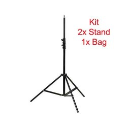 Godox 303 Trépied pour Flash 260cm Kit 2pcs + Sac