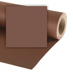 Colorama Peat Brown Background paper 2,72mx25m