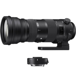 Sigma 150-600mm F5-6.3 DG OS HSM Sports + TC-1401 Canon