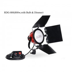 NiceFoto RedHead 800W Mandarine GDR-800 with dimmer