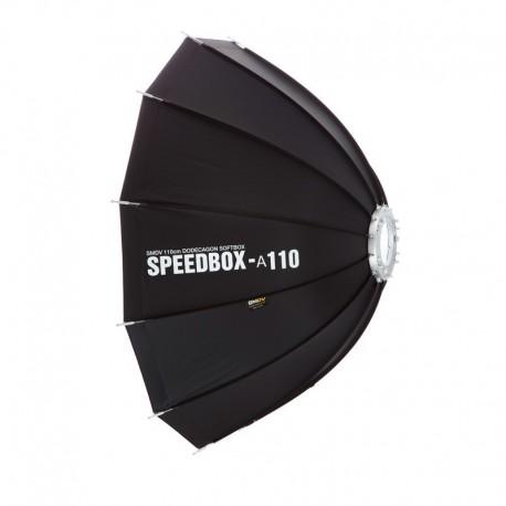 SMDV SPEEDBOX-A110 Softbox Parapluie flash Elinchrom