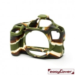 EasyCover Protection Silicone pour Canon 4000D Militaire