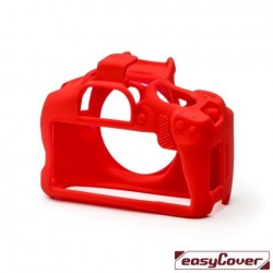 EasyCover Protection Silicone pour Canon 4000D Rouge