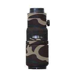 Lenscoat ForestGreenCamo pour Nikon 200 F4 AF-D MICRO IF-ED