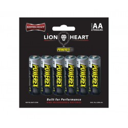Rotolight Lionheart AA de Powerex Pro Pack 6pcs
