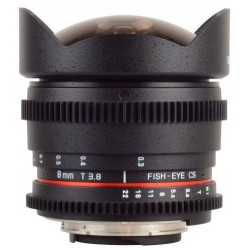 Samyang 8mm T3.8 UMC Fish-eye VDSLR CSII Nikon