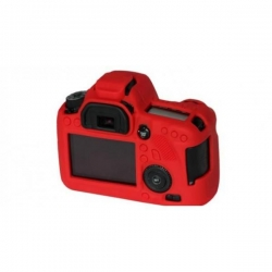 EasyCover Protection Silicone pour Canon 100D / SL1 Rouge