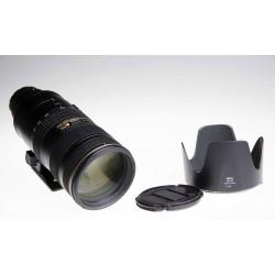 Nikon 70-200mm f/2.8G ED VR II AF-S Zoom-Nikkor Objectif - OCCASION
