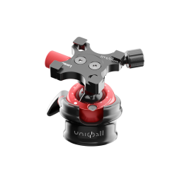 Uniqball UBH35XC Ballhead with X-Cross Clamp