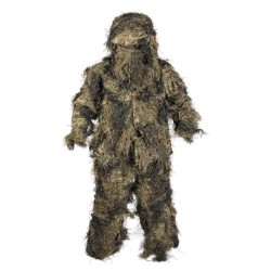Ghillie Anti Fire 4pcs Woodland S/M