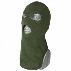 Hood 3 holes Cotton Green