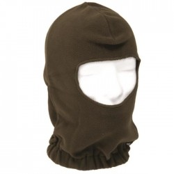 Green Fleece Hood