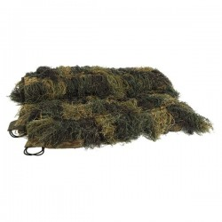 Ghillie Cover Camo Woodland 140x100cm
