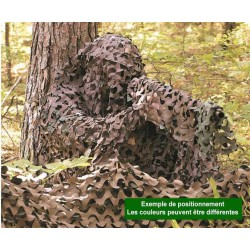 CamoSystems Filet de Camouflage avec cordes 300x600cm
