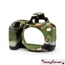EasyCover Protection Silicone pour Nikon D3500 Militaire