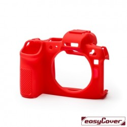 EasyCover Protection Silicone pour Canon R Rouge