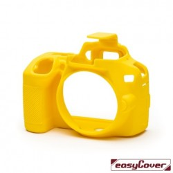 EasyCover Protection Silicone pour Nikon D3500 Jaune