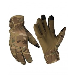 MilTec Gants Softshell Thinsulate Multitarn