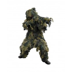 Ghillie Anti Fire Pro 4pcs Woodland XL/XXL