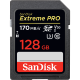 SanDisk 128gb SDXC Extreme Pro 170mb U3 V30