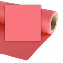 Colorama Coral Pink Background paper 1,35mx11m